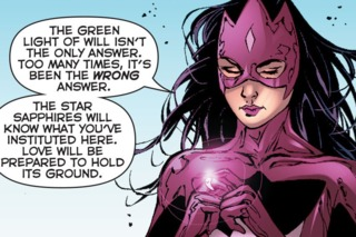 The Star Sapphire Corps will stand their ground
