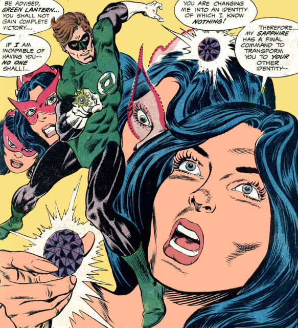 Star Sapphire never gives up