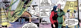 Green Lantern saves the probe
