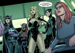 Huntress and the new Birds of Prey