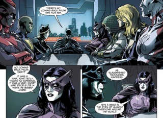 Huntress in Injustice: Gods Among Us