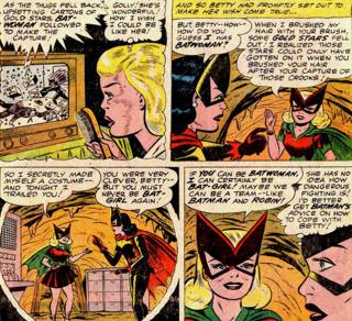 the original Bat-Girl & Batwoman