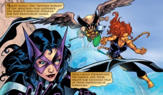 Huntress joins Wonder Woman's Furies