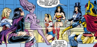 Huntress and the Justice League of Amazons