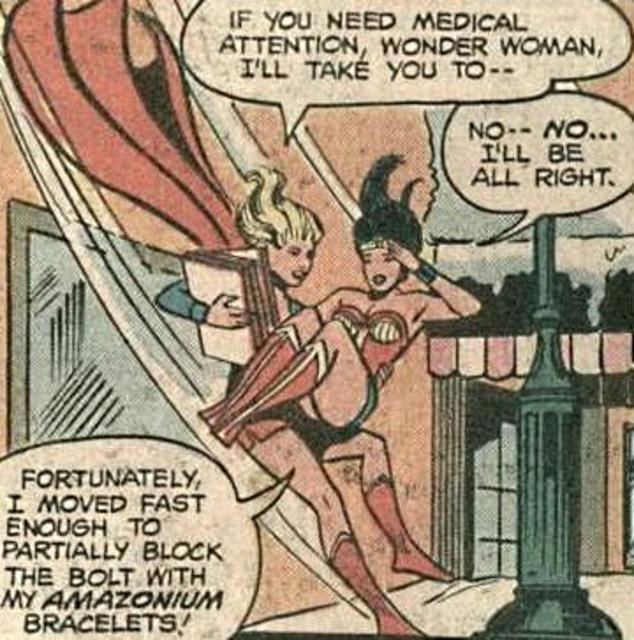 Saving Wonder Woman
