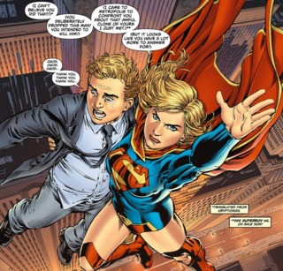 Saving Jimmy Olsen from the imposter