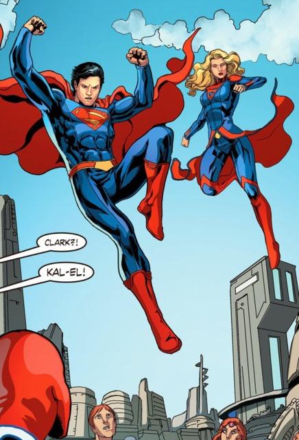 Supergirl in Smallville Season 11