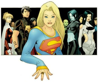 Supergirl joins the Legion