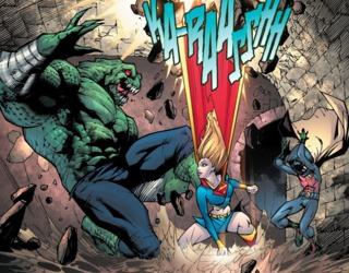 Saving Robin from Killer Croc