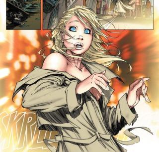 Kara lost in Gotham City