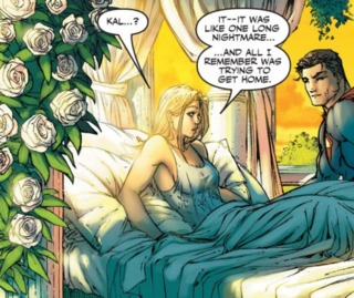 Waking up back on Themyscira