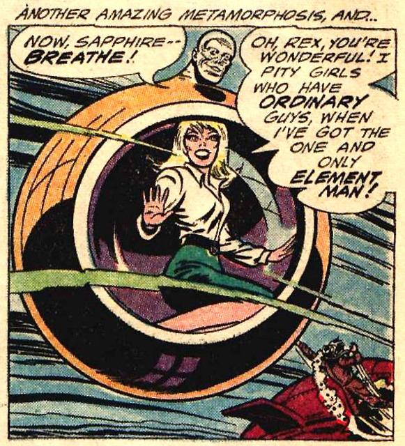 an under-sea escape!