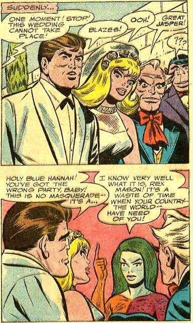 Sapphire and Rex's wedding, interrupted!