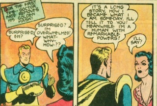 Golden Age Dr.Fate unvales to Inza