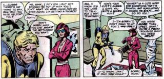 First Divorce in Comics: Avengers #217
