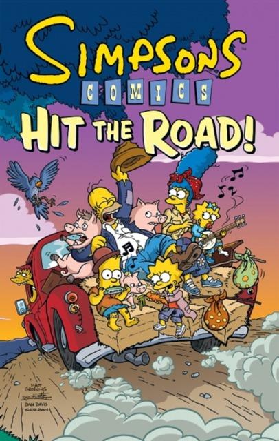 Simspson Comics Hit the Road!