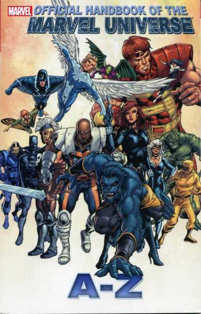 Official Handbook of the Marvel Universe  A-Z