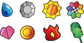 Indigo League Badges