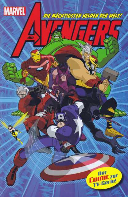 Die Avengers TV Comic