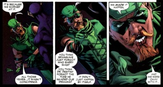 Green Arrow's confession