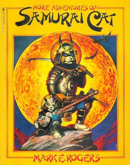 More Adventures of Samurai Cat