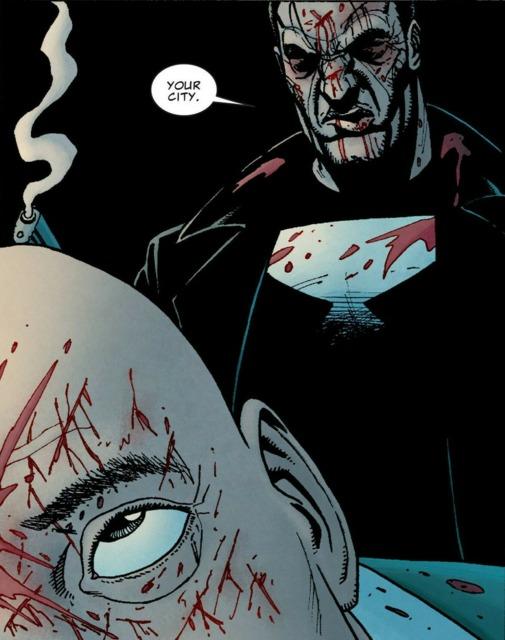 Punisher Kills Kingpin