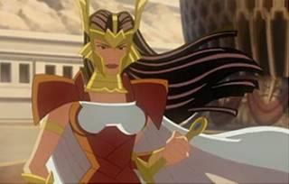 Sif in Hulk Vs. Thor