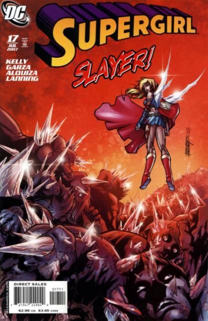Supergirl VS Phantom Demons