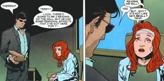 Cyclops delivers Terry the bad news