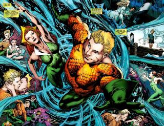 Mera and Aquaman Adventures