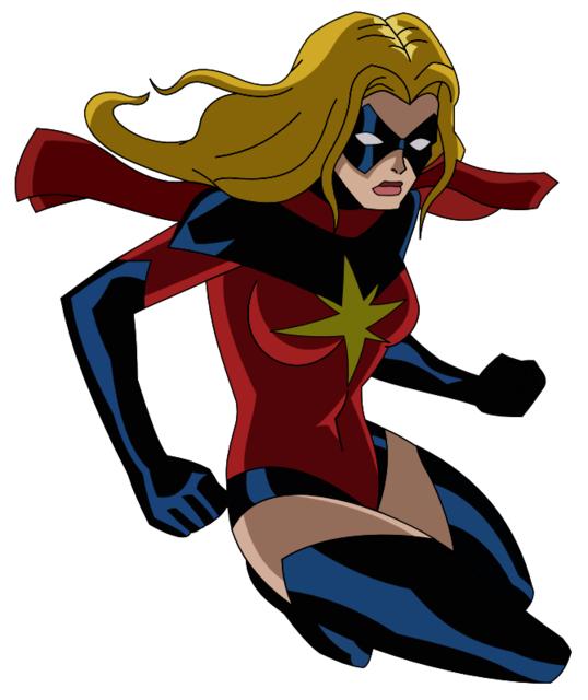 Carol as Ms. Marvel in Avengers Earth´s Mightiest Heroes