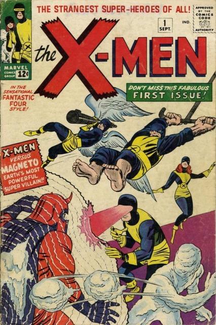 Marvel Girl debut in X-men 1