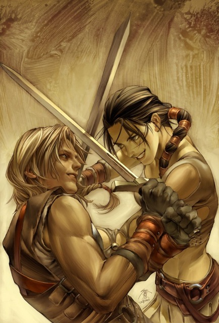 Sparring with Thor