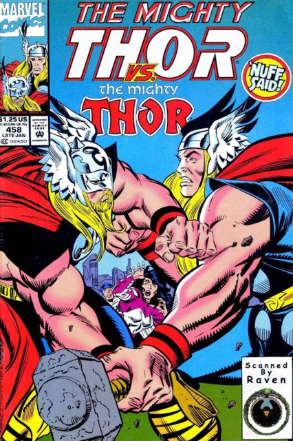 Sif and Two Thors