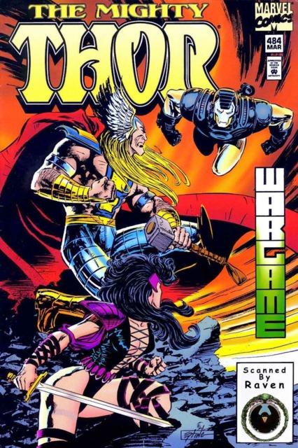 Sif & Thor VS War Machine