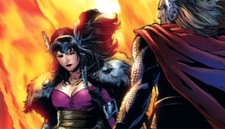 Sif joins Thor in Exile