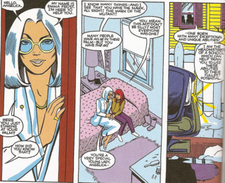 Emma Frost and Firestar