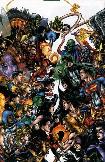 Lilith in JLA VS Titans
