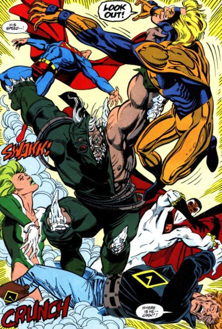 Justice League faces Doomsday