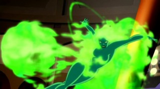 Fire in Justice League Unlimited