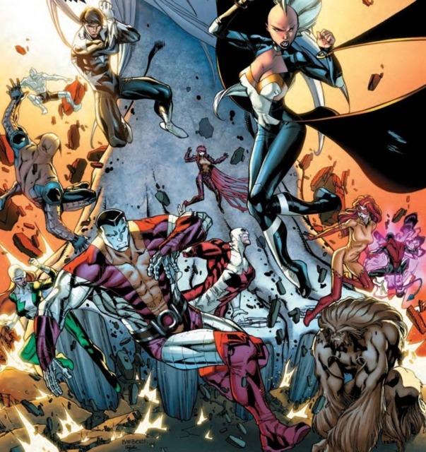 X-men and Alpha Flight VS Wendigos
