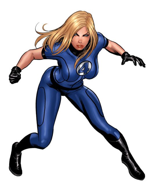Modern Invisible Woman