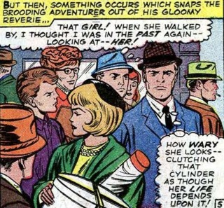 Sharon in Tales of Suspense 75