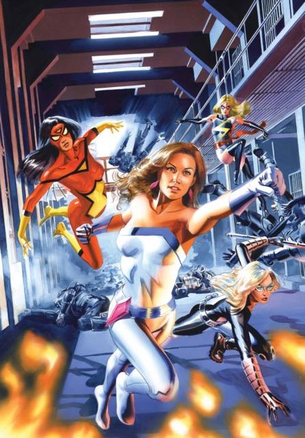 Jessica Jones and some female Avengers