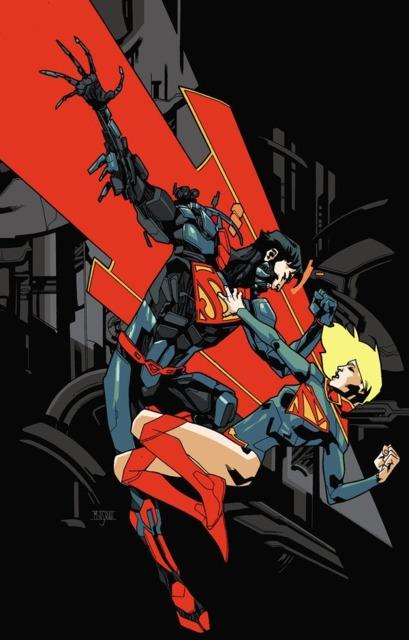 Supergirl VS Cyborg Superman (Zor-El)