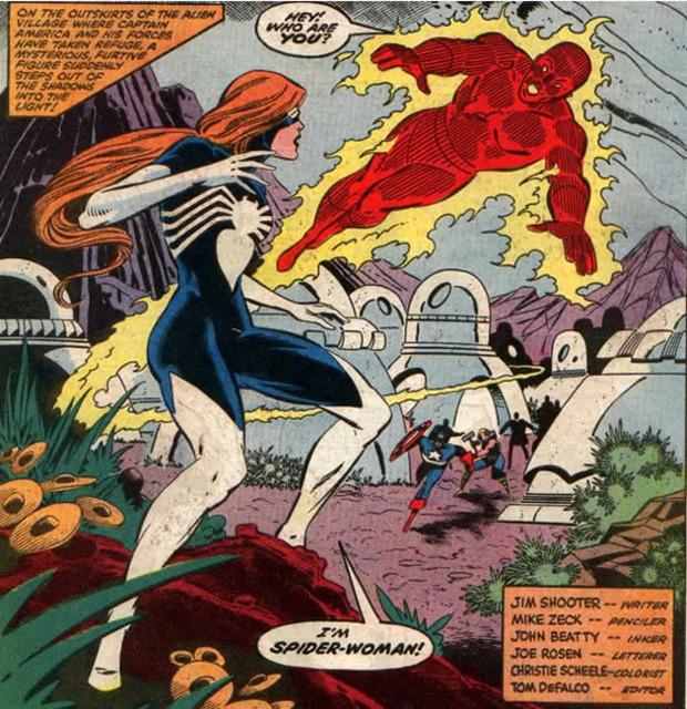 Spider-Woman debut in Secret War