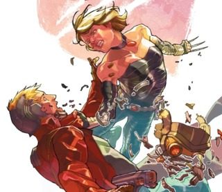 Age of Apocalypse Kitty Pryde vs. Star-Lord