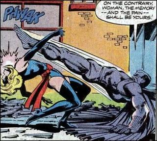 Ms. Marvel VS Grey Gargoyle