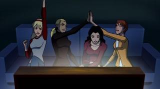Zatanna in Scooby-Doo! WrestleMania Mystery.