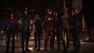 Black Canary and Team Arrow in Flash
